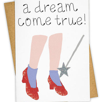 Dream Come True Greeting Card