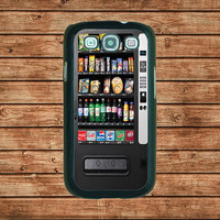 Samsung Galaxy S3 case---Vending Machine,in plastic hard case,black or white or clear color