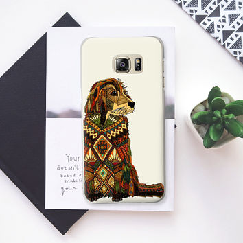 Golden Retriever ivory Samsung Galaxy Note 5 case by Sharon Turner | Casetify