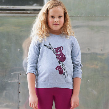 me and mama Koala Bear Shirt, Kids Sweatshirt, Gift for a little one