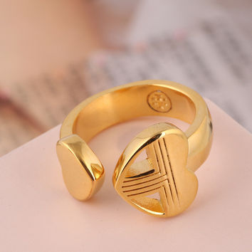 Shiny Gift New Arrival Stylish Fashion Accessory Hollow Out Jewelry Ring [4989642564]