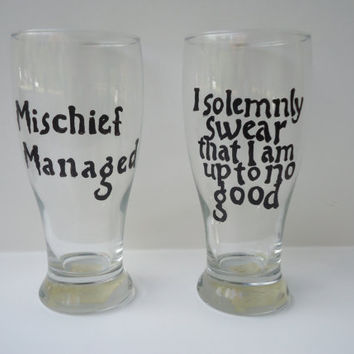 Harry Potter Beer Glasses