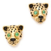 Juicy Couture Leopard Earrings | SHOPBOP