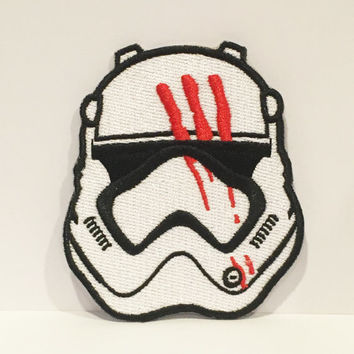 BLOODY FINN Embroidered Iron On Patch
