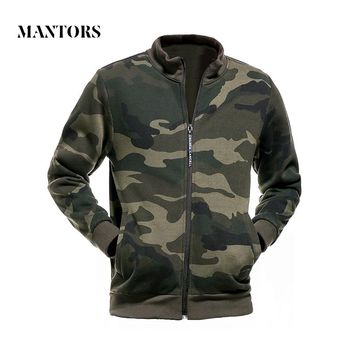 Camouflage Jacket Men 2018 Winter Hooded Sweatshirts Male Casual Slim Fit Outerwear Coats Military Tracksuit Mens Hoodie Jackets