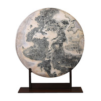A Chinese Dream Stone Plate
