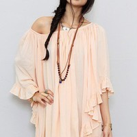 Frill Edge Angel Wing Cover-Up