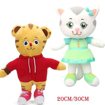 20cm 30cm Daniel Tiger's Neighborhood Friend Katerina Kittycat Plus Toys Daniel Tiger Stuffed Animal Dolls juguetes de peluche