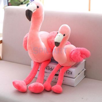 Soft Plush Pink Flamingo Toy Stuffed Animal