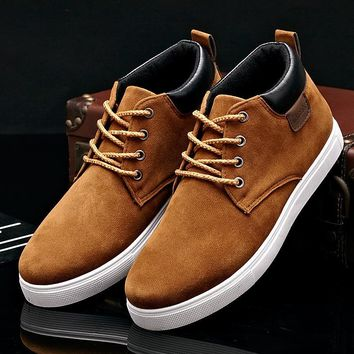 Hot Deal Stylish Casual On Sale Comfort Hot Sale Men High-top Shoes Korean Fashion Sneakers [257818591261]