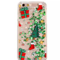 Creative Christmas Tree Iphone 7 7plus & 6 6s plus&5s se Cover Case