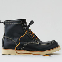 AEO Leather Rugged Boot, Navy