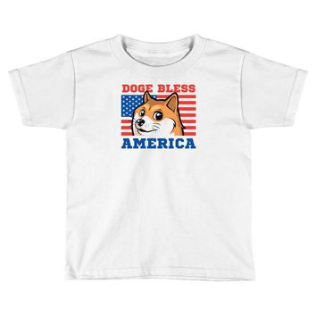 doge bless america Toddler T-shirt