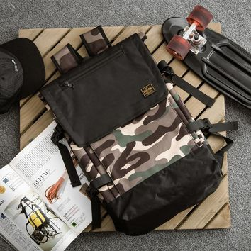 Hot Deal Back To School On Sale College Stylish Casual Comfort Camouflage Couple Outdoors Backpack [11030891591]