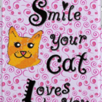 Smile your cat loves you by gretzky