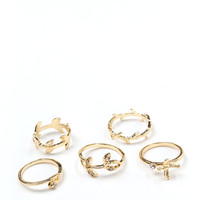 Branching Out Nature Ring Set