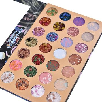 28 Color Starry Sky Shimmer Glitter Eye Shadow Plate Powder Matt Eyeshadow eyeshadow pallete paleta de sombra beauty glazed