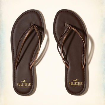 Girls Mixed Strap Flip Flop | Girls Shoes & Accessories | HollisterCo.com