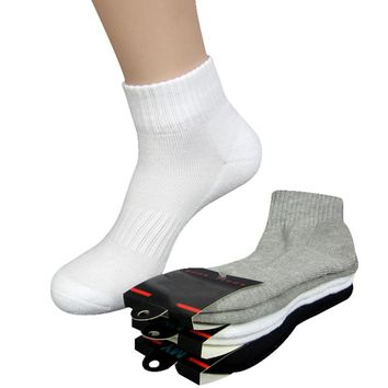 5pairs/lot High Quality Men Women Socks Thick Long Socks Profession Thermal Towel Bottom Foot Wear Terry Combed Cotton Long Tube