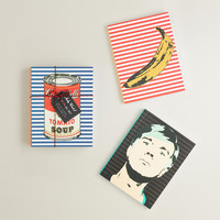 Andy Warhol Journals, Set of 3 - World Market