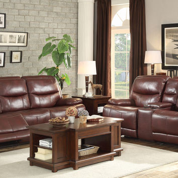 Risco Double Reclining Sofa & Loveseat Set 8599BGD