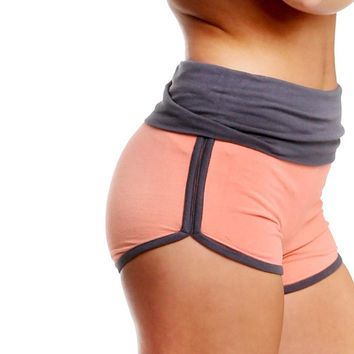 Women YOGA fitness sports training shorts