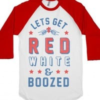 White/Red T-Shirt | July 4th Shirts | Independence Day