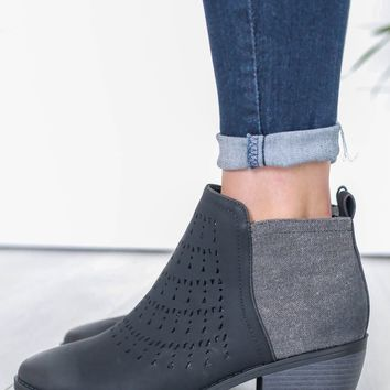Freeda Booties - Black