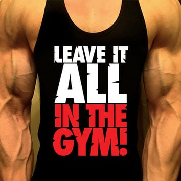 Men's Workout Tank Top. Bodybuilding. Fitness Tank. Racerback Tank. Muscle Tank. Mens Fitness. Gym Tank Top. Workout Shirt. Fitness Apparel