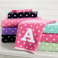Dottie Applique Bath Towels