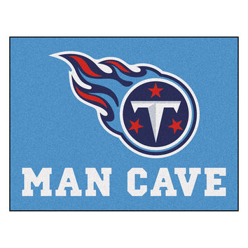 Tennessee Titans NFL Man Cave All-Star Floor Mat (34in x 45in)