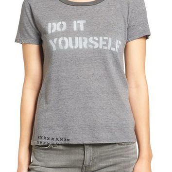 MOTHER Itty Bitty Goodie Goodie - Do It Yourself Graphic Tee | Nordstrom