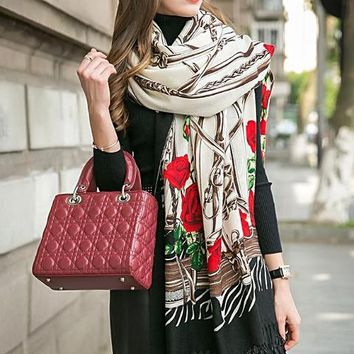 Luxury Brand Hijab Scarves Shawls And Wraps