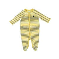 Ralph Lauren Baby Boys Striped Infant Boys One-Piece Pajamas