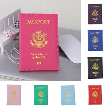 Passport Holder Protector Wallet