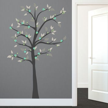Modern Whimsical Dot Tree