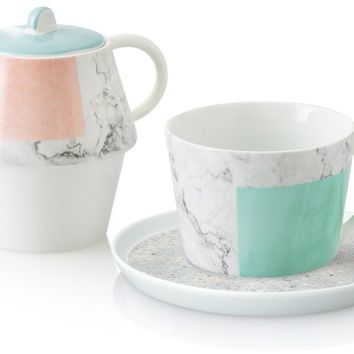 Carrara Tea for One | Oliver Bonas