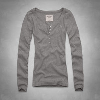 Annabel Ribbed Henley