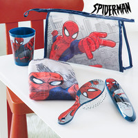 Spiderman Children's Toilet Bag for the Dining Room (5 pieces)