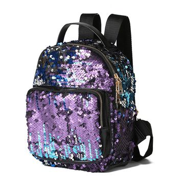 Multi-Color Sequin Backpack (Small)