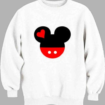 Mickey and Minnie Disney Matching A Sweater for Mens Sweater and Womens Sweater *