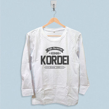 Long Sleeve T-shirt - Normani Kordei Fifth Harmony