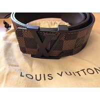 DCCK Men's Louis Vuitton Belt size is 95/38