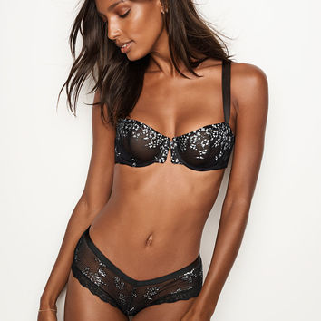Shine Lace Unlined Balconet Bra - Very Sexy - Victoria's Secret