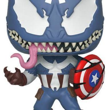 Venom | Venomized Captain America POP! VINYL