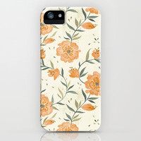 August Florals iPhone & iPod Case by Teagan White