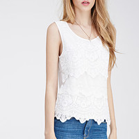 Layered Lace Top