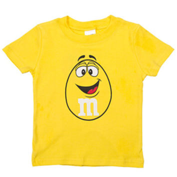 M&M's Candy Character Face T-Shirt - Toddler - Yellow - 2T