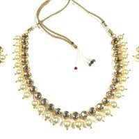 Peral Choker Necklace Wedding Jewelry Sets Women Bollywood Necklace Earring Jewelry Gift for Her