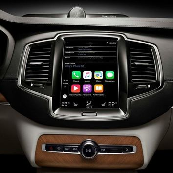Volvo S90 2017 Android video interface
